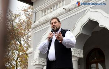 Marius Ciprian Pop Ziua Nationla Romaniei la Tecuci 2017