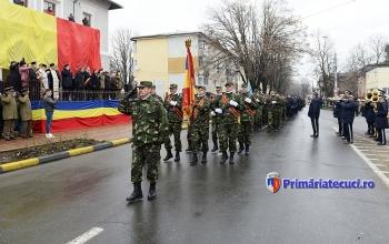 Parada militara Ziua Nationla a Romaniei la Tecuci 2017