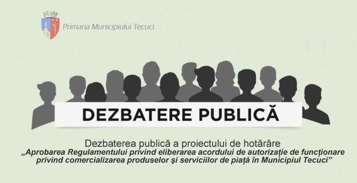 Dezbateri publice Tecuci