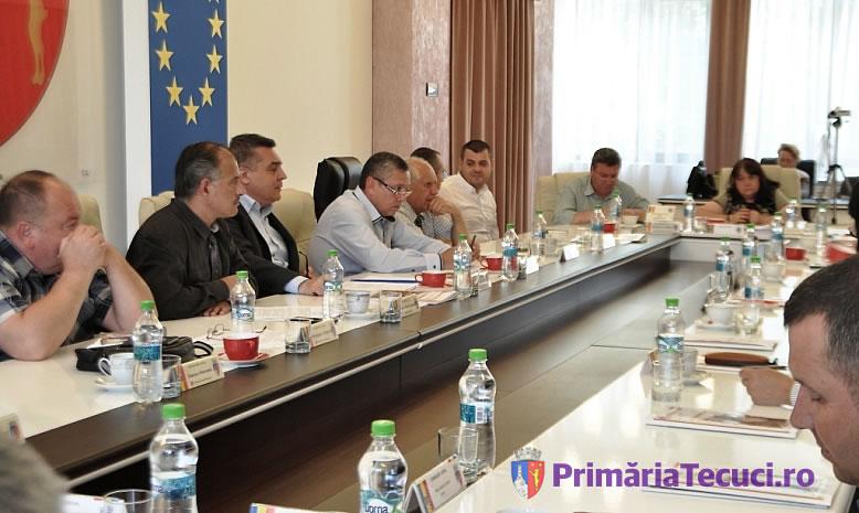 Sedinta extraordinara a Consiliului local Tecuci