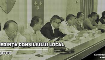 Şedinţă de îndată a Consiliului Local în data de 03.07.2018, ora 16
