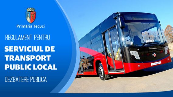 Dezbatere publică Serviciul transport public local