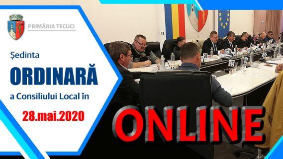 Sedinta ordinara consiliul local mai 2020 Tecuci