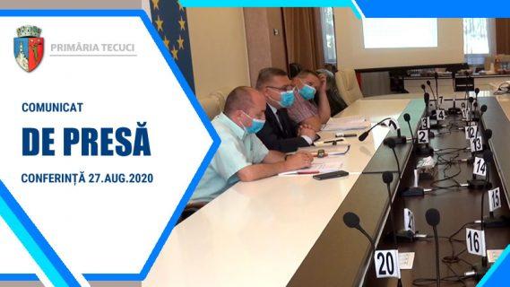 Comunicat conferinta de presa Tecuci 2020