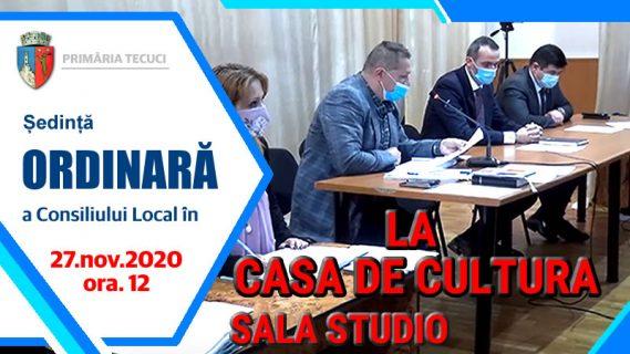 Sedinta ordinara consiliul localdec 2020 Tecuci