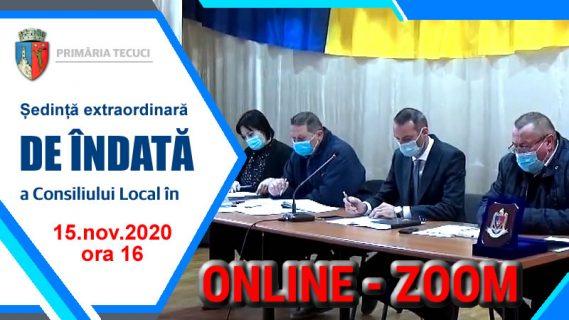 Sedinta de indata consiliul local dec-2 2020 Tecuci