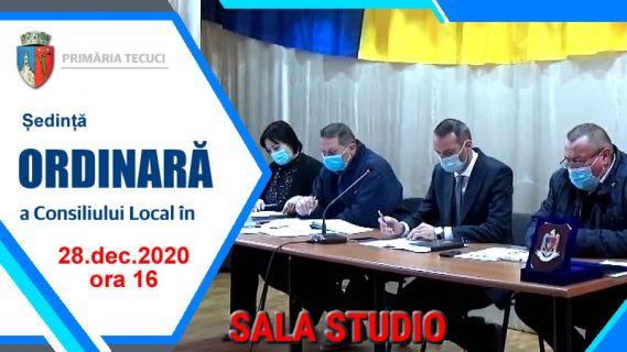 Sedinta ordinara consiliul local dec 2020 Tecuci