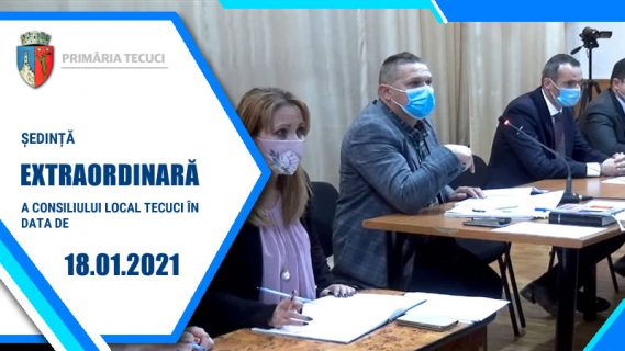 Sedinta extraordinara ian 2021 Tecuci 2020