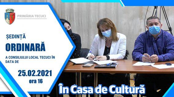 Sedinta ordinara febr 2021 Tecuci