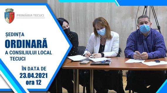 Sedinta ordinara a CL Tecuci aprilie 2021