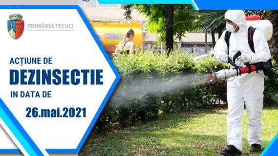 Dezinsectie parcuri Tecuci 2021