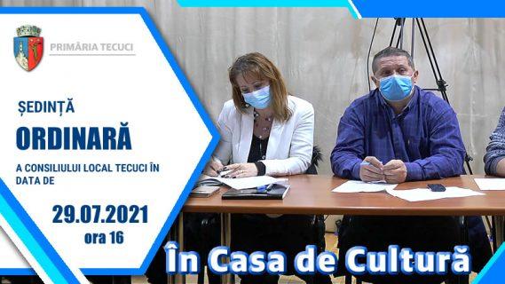 Sedinta ordinara iulie 2021 Tecuci