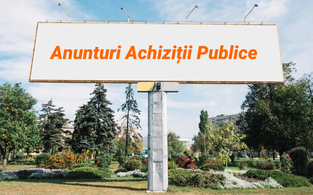 Banner achizitii publice Tecuci